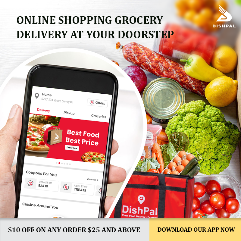 healthy and fresh grocery items surrey