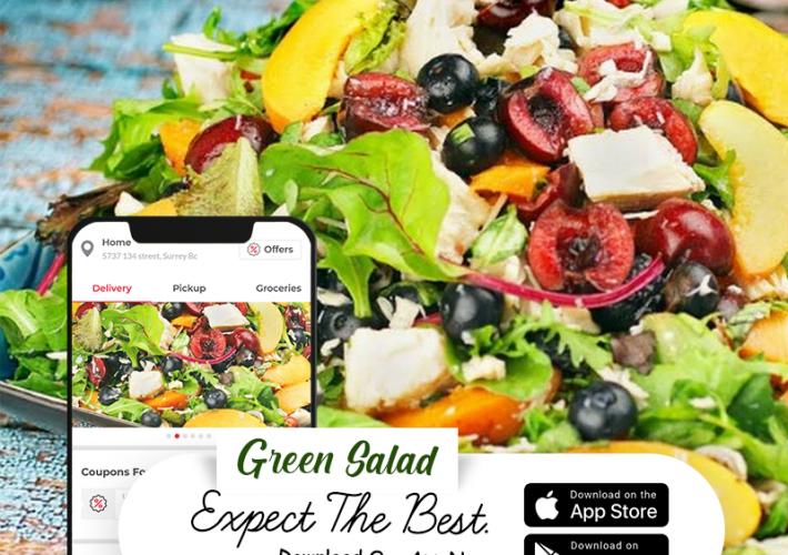 Food Delivery App in Surrey