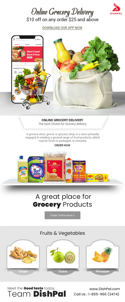 best grocery delivery app surrey